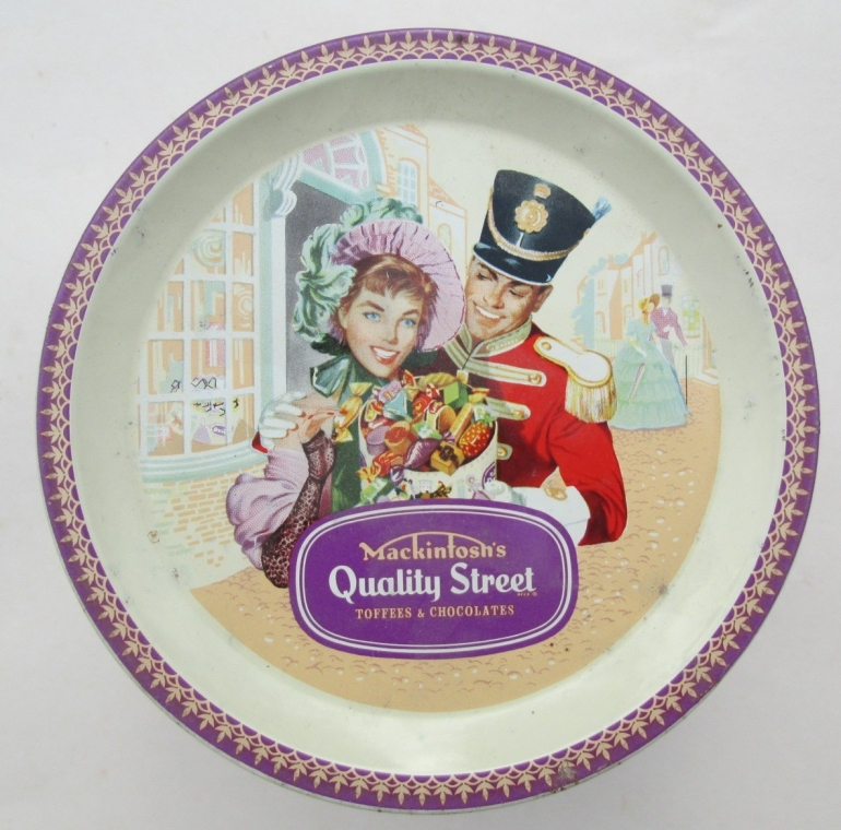 Another classic Quality Street Soldier & Lady pose