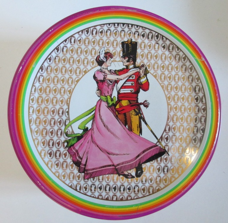 Another Quality Street Soldier & Lady image showing them dancing