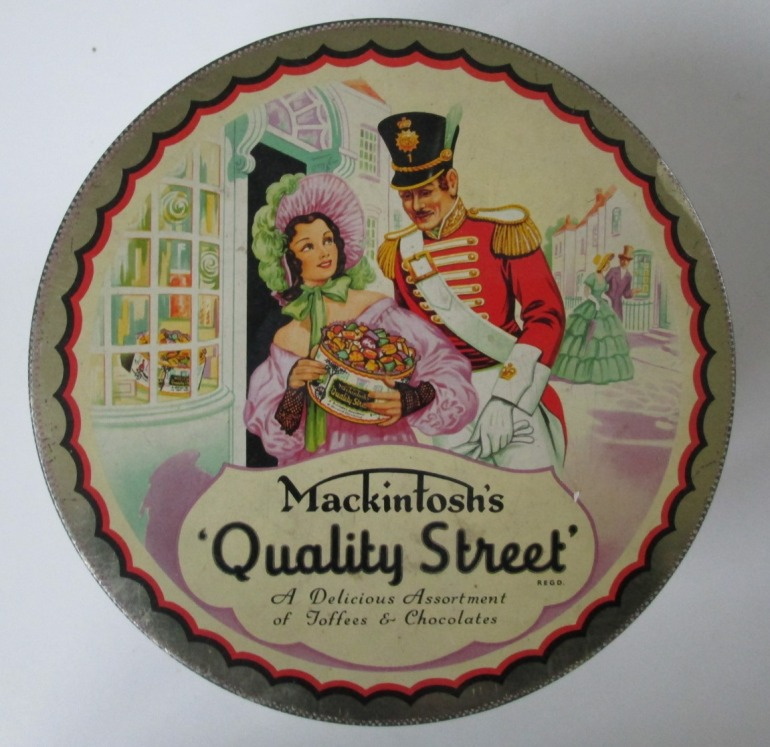 The Classic 1950s Quality Street Soldier & Lady image