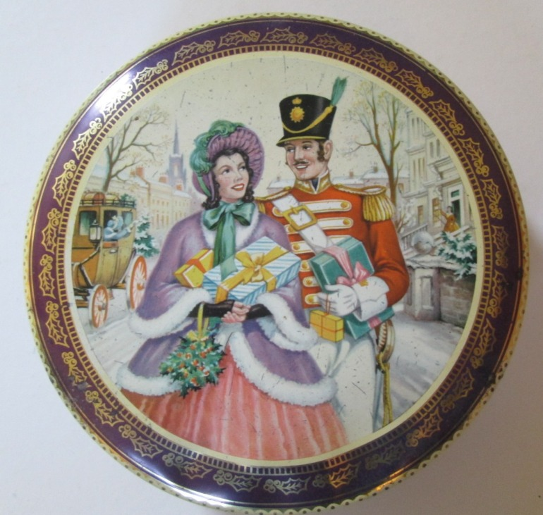 Another Quality Street Soldier & Lady Christmas image