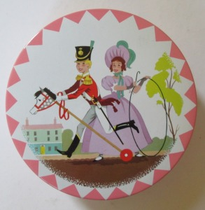 The Quality Street Child Soldier with a hobby horse