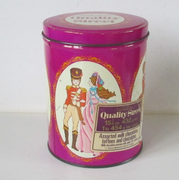The Quality Street Soldier & Lady looking very together