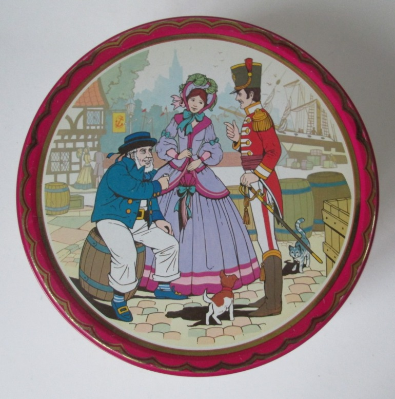 The Quality Street Soldier & Lady chat to a sailor