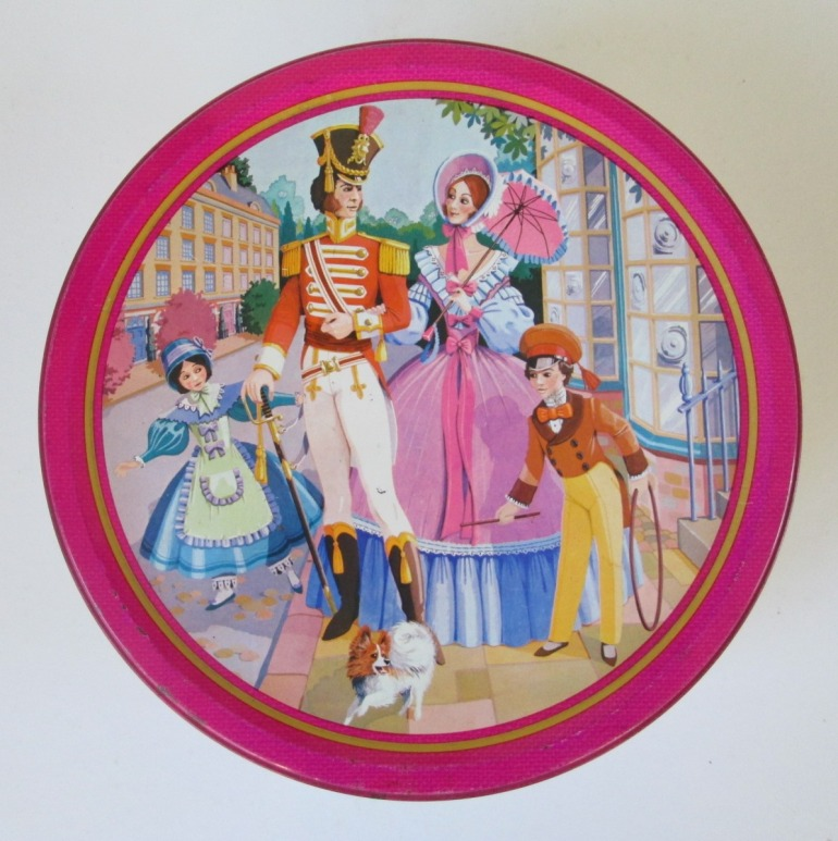 The Quality Street Soldier & Lady family on an outing