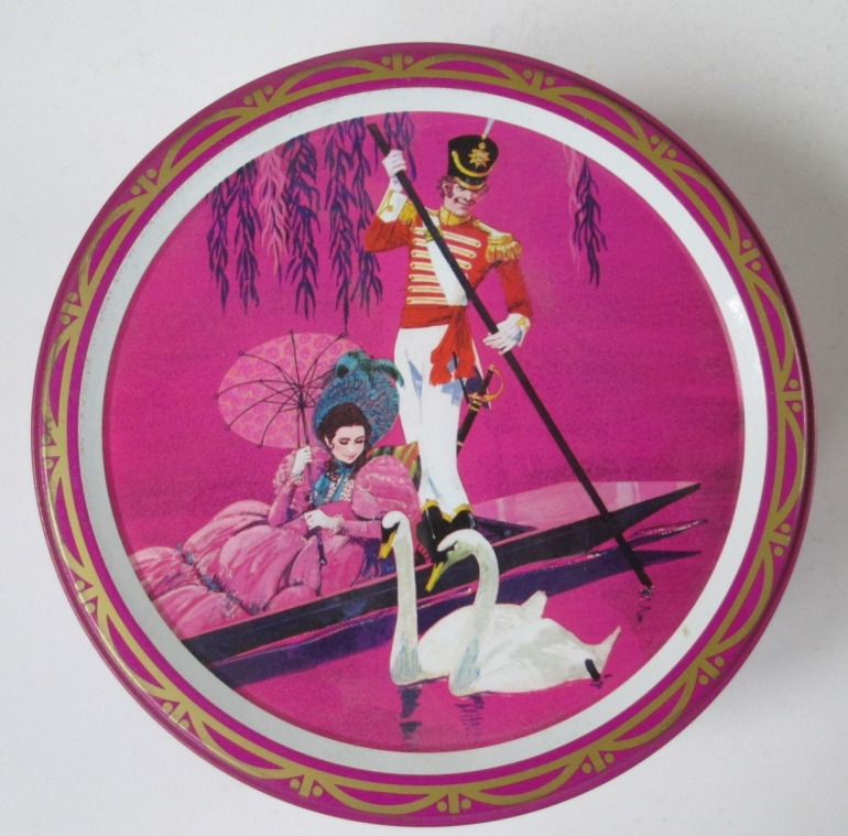 The Quality Street Soldier & Lady in a punt