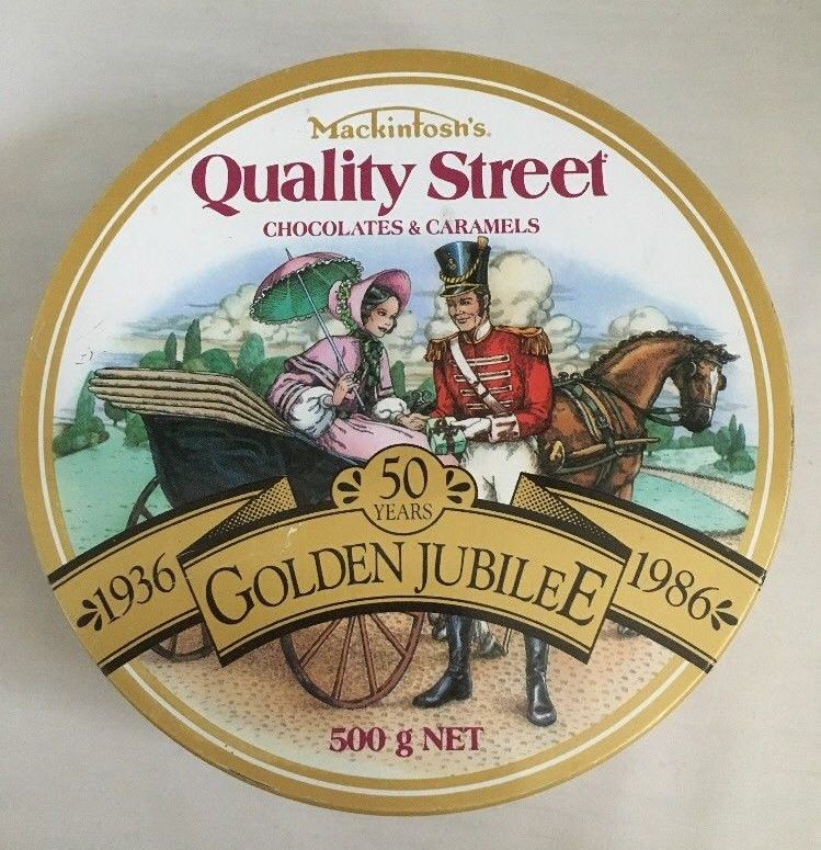 The Quality Street Soldier & Lady in a carriage