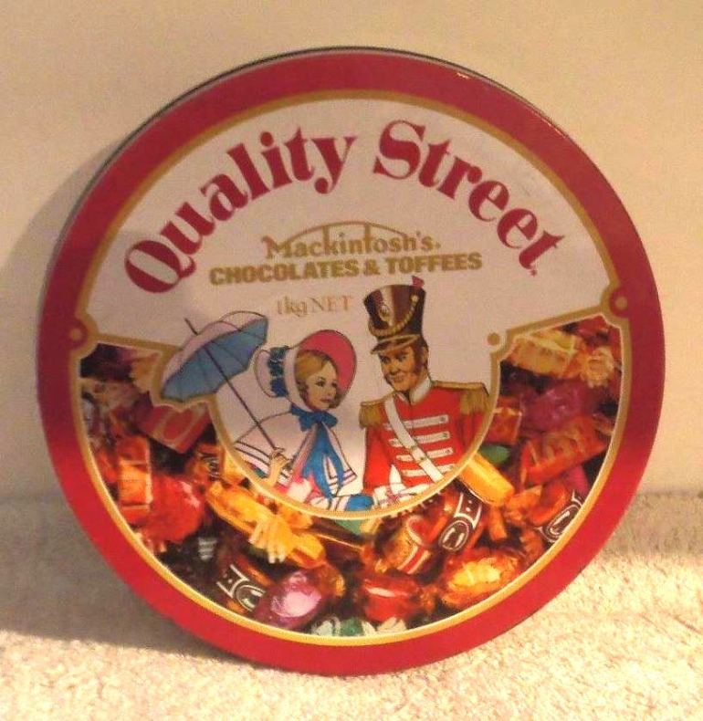 The Australian Quality Street Soldier & Lady