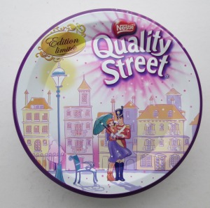The Quality Street Soldier and Lady as flappers