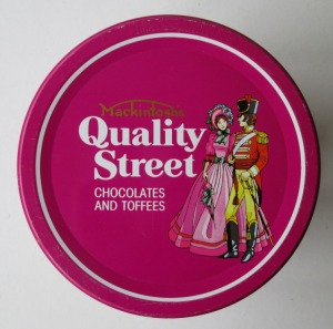 The Classic South African Quality Street Soldier & Lady image